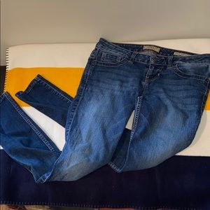 Guess skinny blue jeans size 26